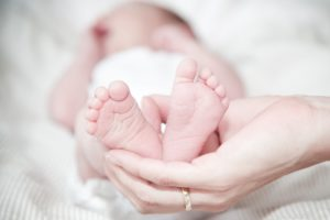 Natural Childbirth - Baby feet