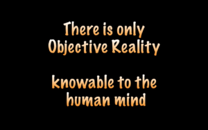 What is the Matrix - Objective Reality